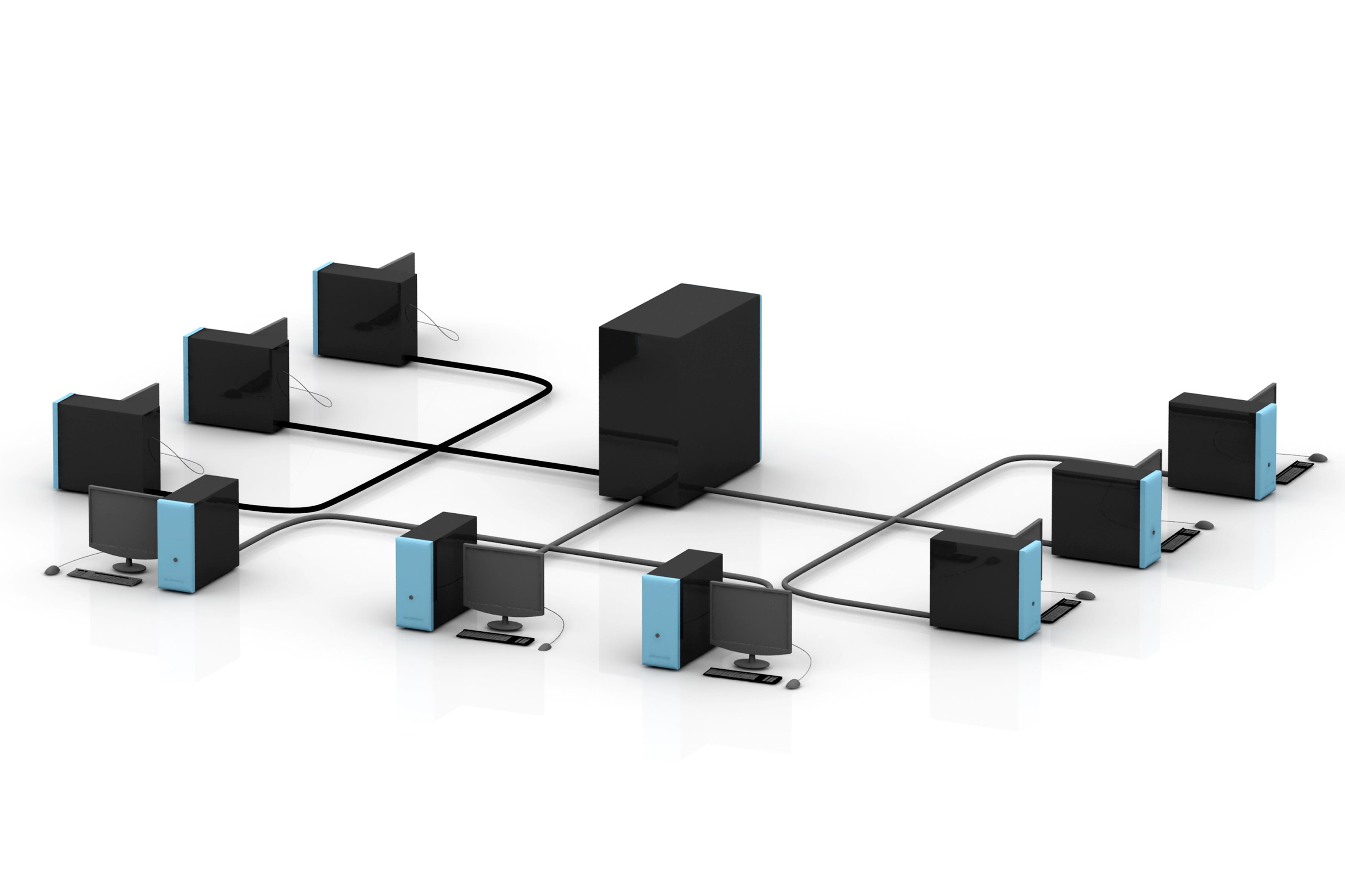 Network Clip Art.