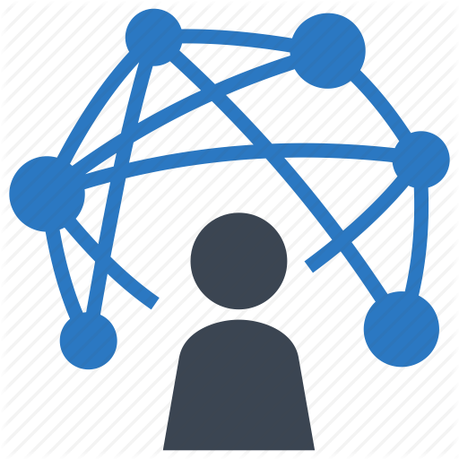 Network clipart with transparent background.