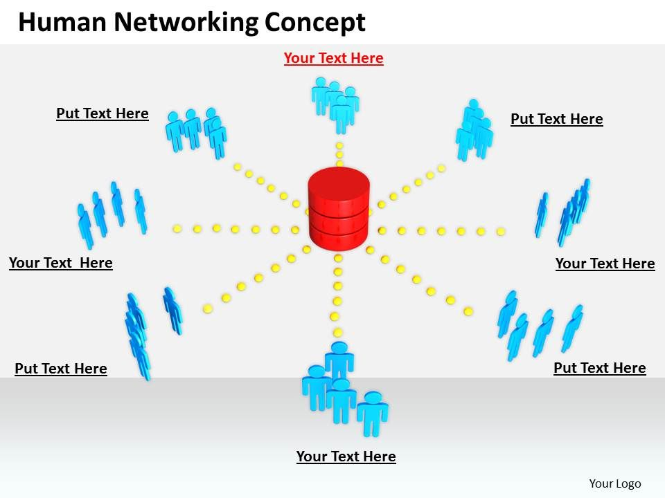 0514 Build A Human Network Image Graphics For Powerpoint.