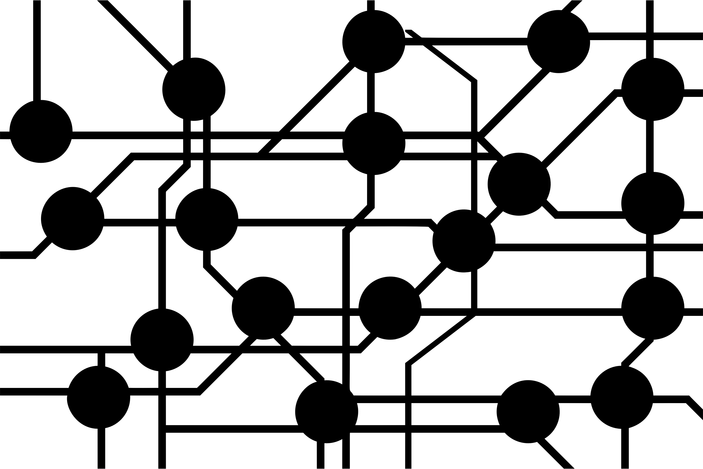 Network clipart black and white, Network black and white.