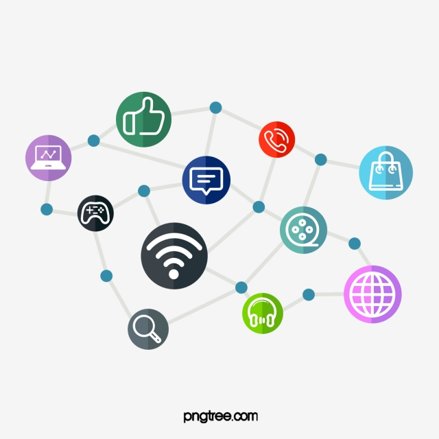 Social Network Design, Creative, Icon, Media PNG Transparent.