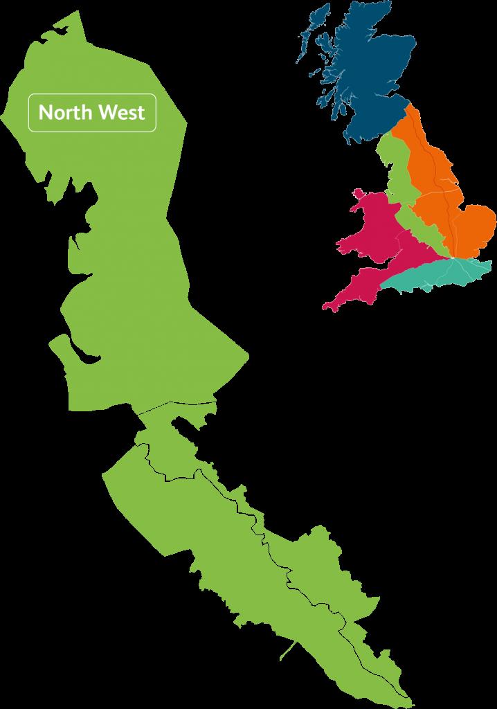 North West.