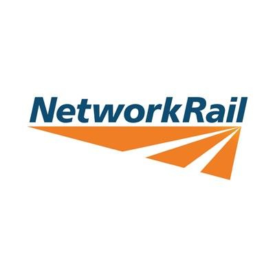 Network Rail logo.