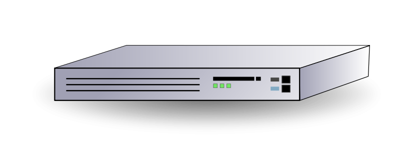 Free Clipart: Network Router.