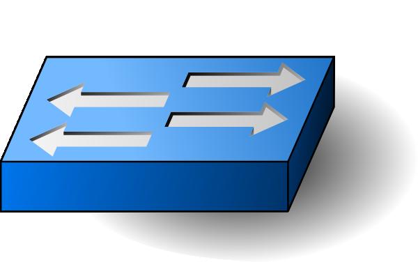 Network Switch Clip Art at Clker.com.