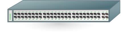 Network Switch Clip Art, Vector Network Switch.