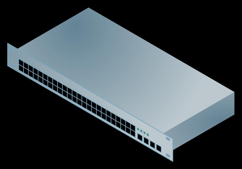 Network Switch Clip Art.