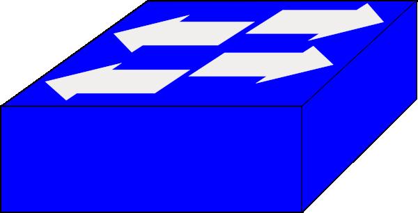 Network Switch Symbol.