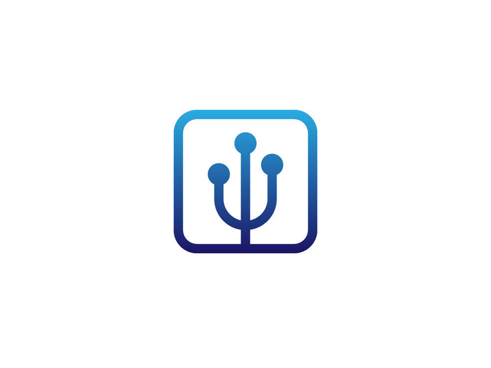 Trident Networking Logo by Ben Gillette on Dribbble.