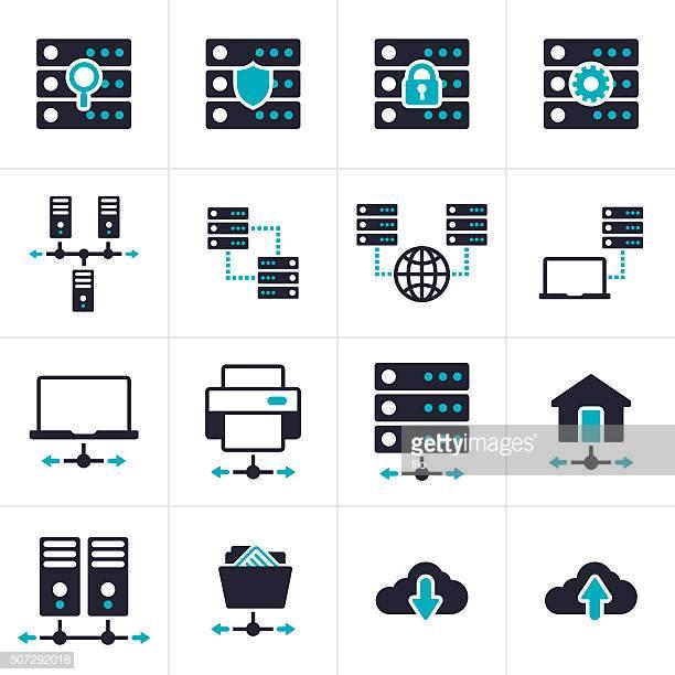 60 Top Network Server Stock Illustrations, Clip art.