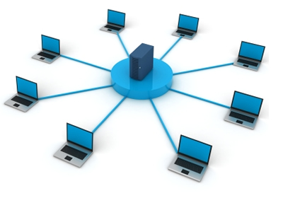 Computer Networks Clipart.