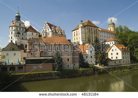 Germany, Neuburg On The Danube In Bavaria Stock Photo 46131184.