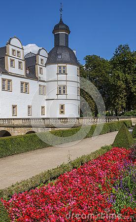 Neuhaus Castle Park In Paderborn, Germany Stock Photography.