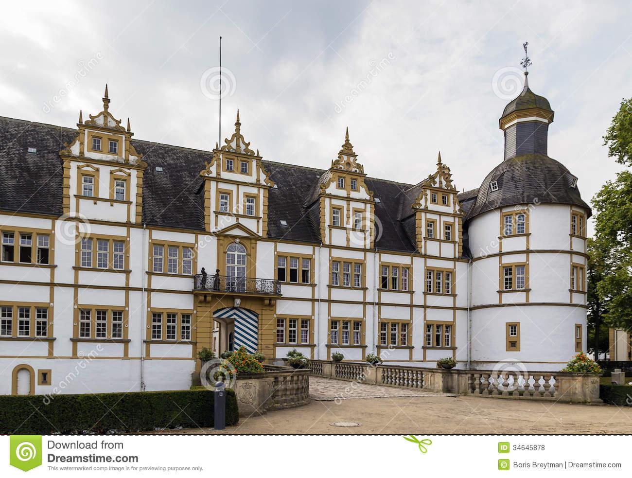 Neuhaus Castle In Paderborn, Germany Royalty Free Stock Photos.