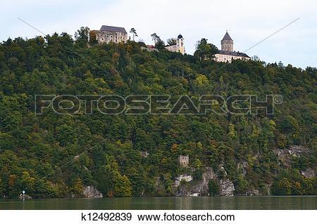 Stock Photograph of Schloss Neuhaus an der Donau k12492839.