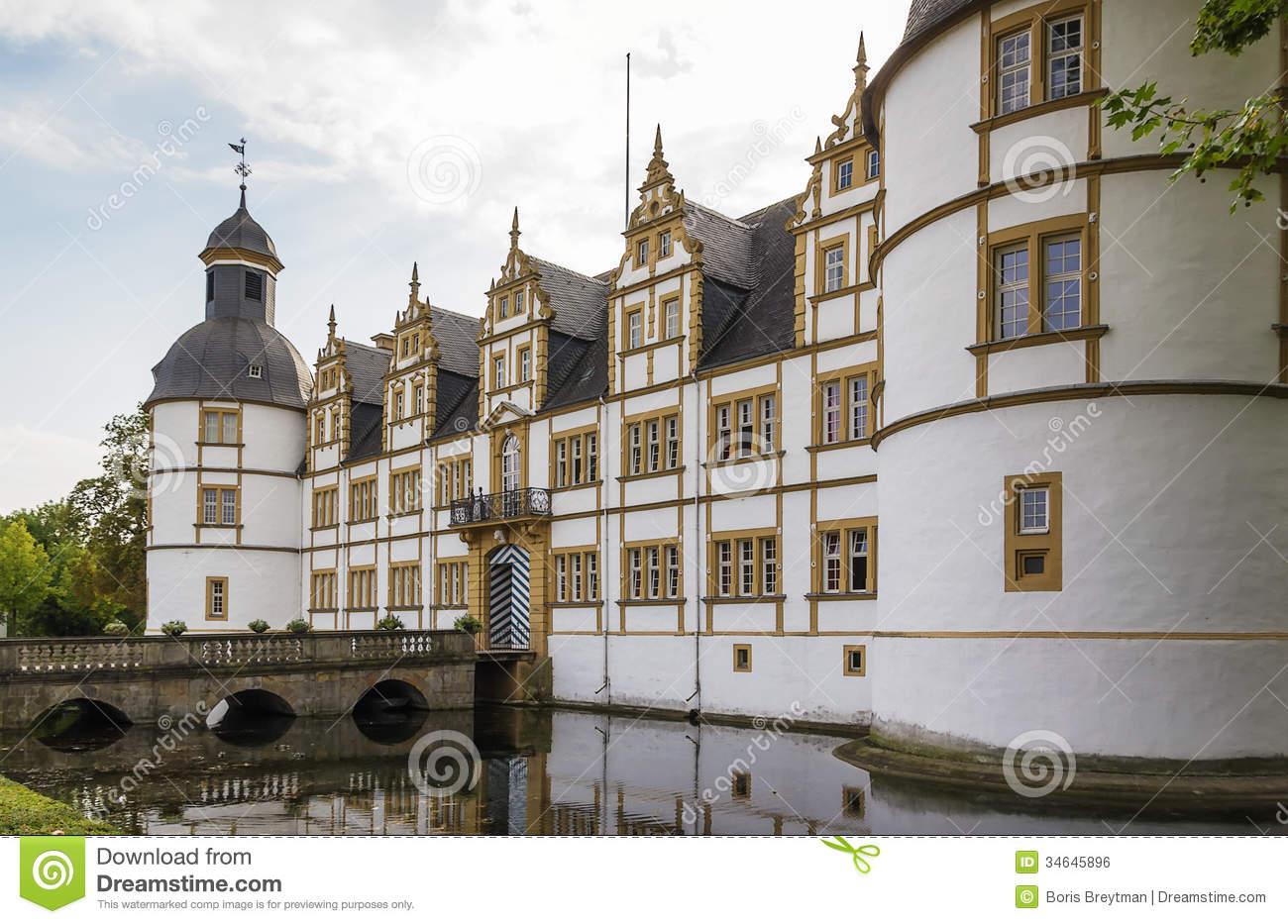 Neuhaus Castle In Paderborn, Germany Royalty Free Stock Image.
