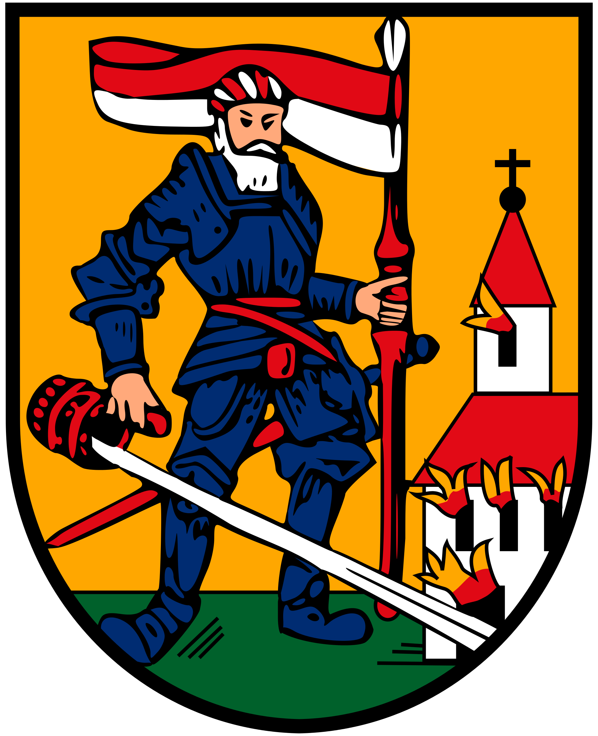 File:Coat of arms Neumarkt im Hausruckkreis.svg.