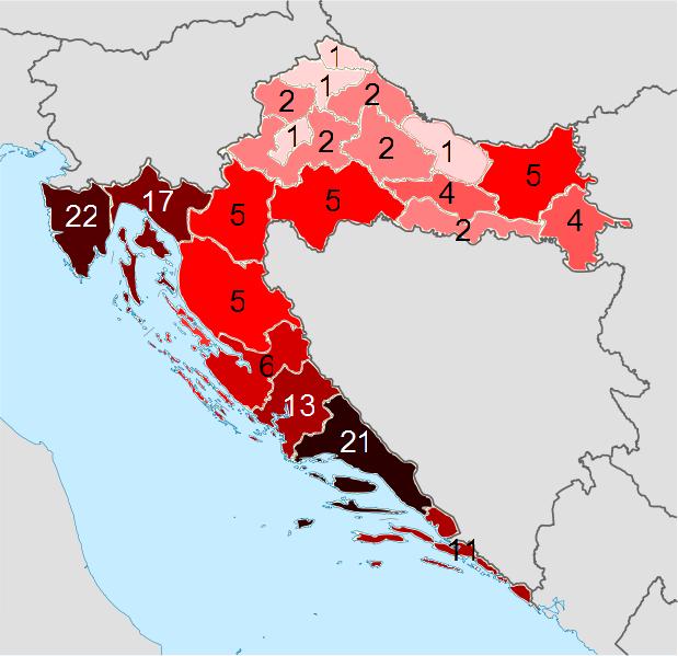 SPISAK GRADOVA I STATISTIKA.