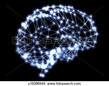 Stock Photo of Neural network u16396544.