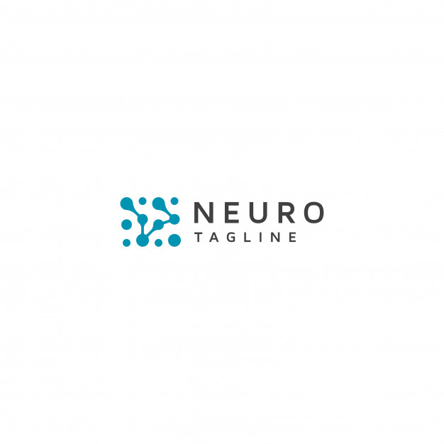 Neuron logo with tagline Vector.