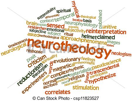 Clip Art of Neurotheology.