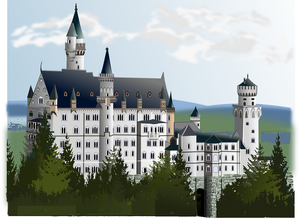 Free vector graphic: Neuschwanstein, Castle.