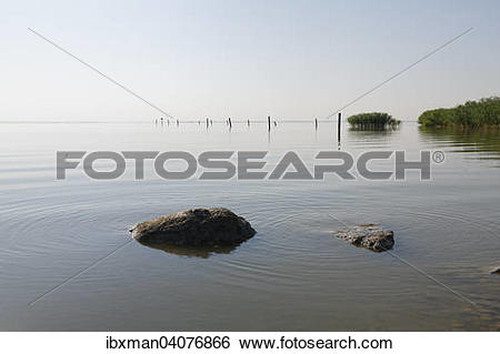 Stock Images of Neusiedlersee, Purbach am Neusiedler See.