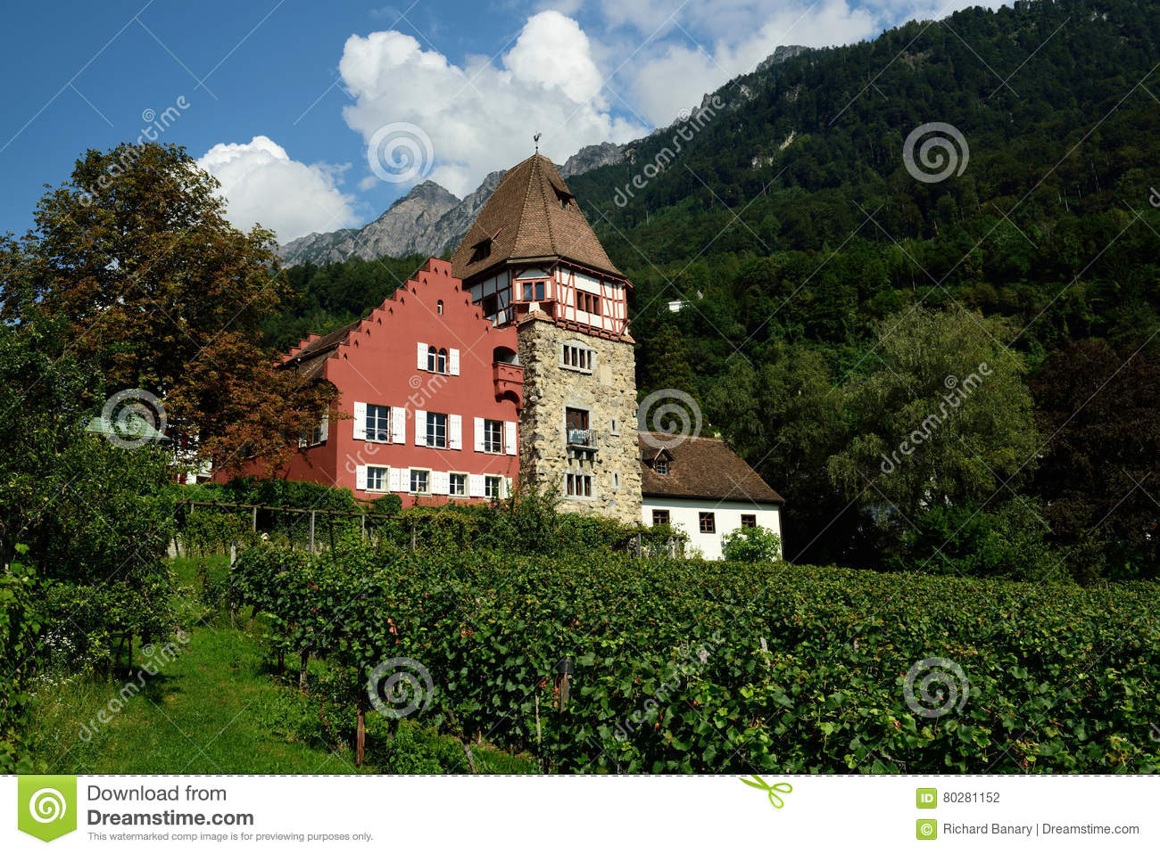 Elferhutte In Stubai Alps Stock Images.