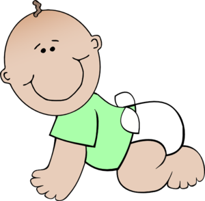 Neutral Baby Crawling Clip Art at Clker.com.