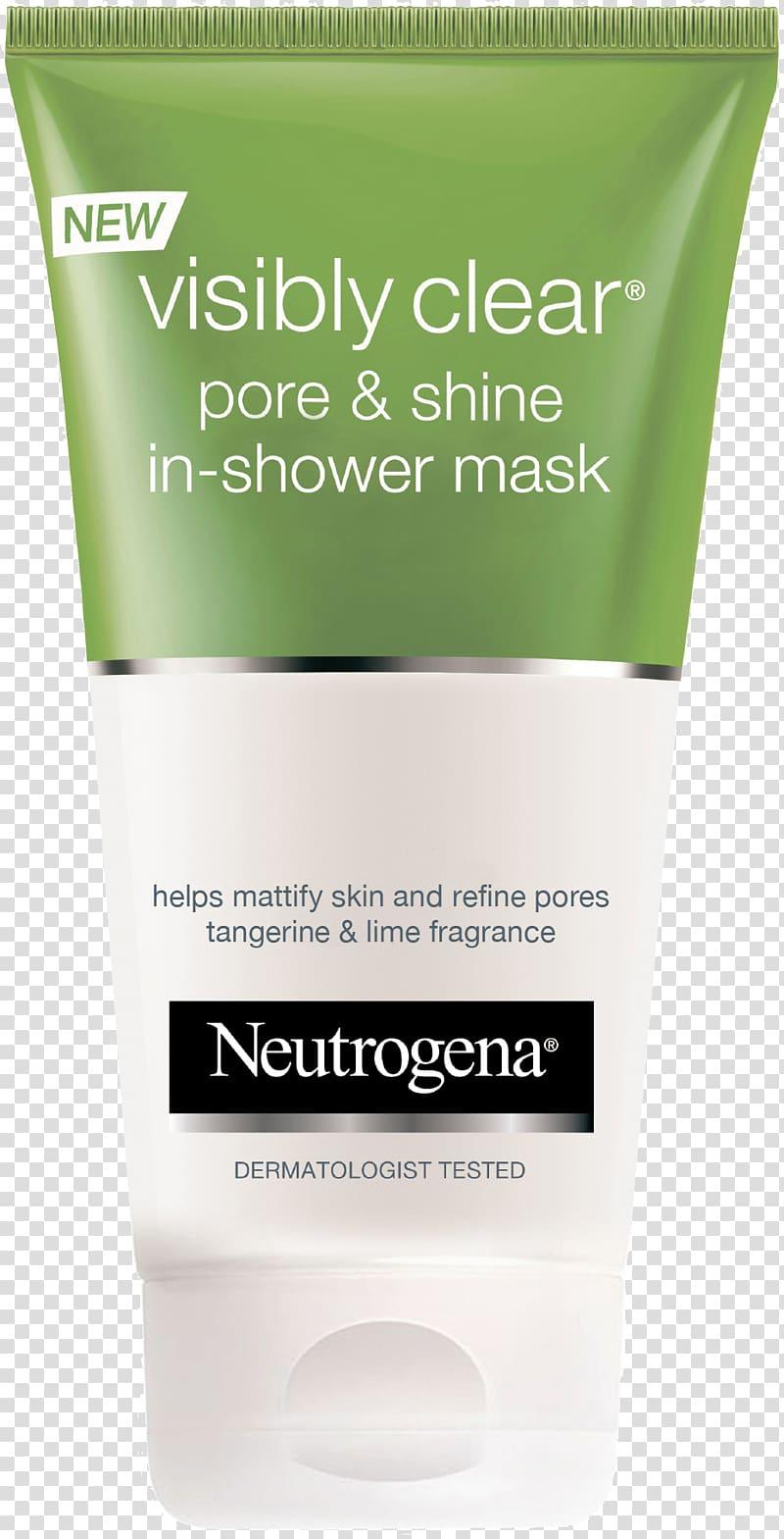 Neutrogena Mask Cosmetics Face Exfoliation, mask transparent.