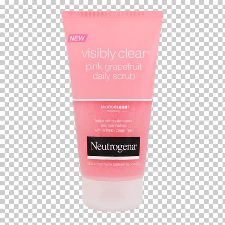 Lotion Cream Neutrogena Clean & Clear Exfoliation, Pink.