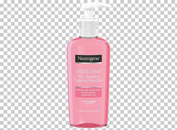 Lotion Neutrogena VISIBLY CLEAR Pink Grapefruit Cream Wash.
