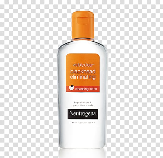 Neutrogena Visibly Clear Blackhead Eliminating Cleansing.