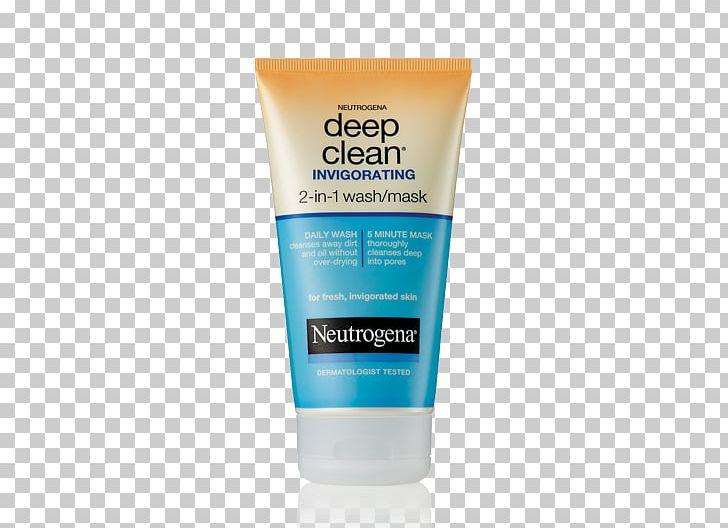 Neutrogena Deep Clean Cream Cleanser Exfoliation Lotion.