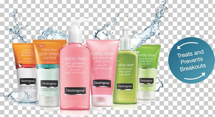 Sunscreen Neutrogena Cleanser Cosmetics Moisturizer PNG.