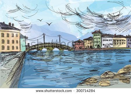 Neva River Stock Vectors & Vector Clip Art.