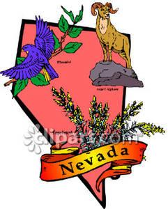 Nevada clipart free.