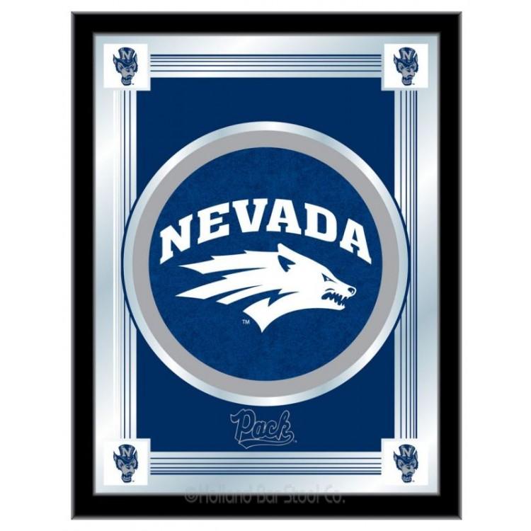 Nevada Wolfpack Logo Mirror.