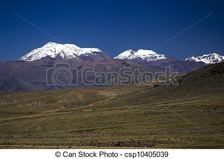 Stock Photos of Nevado Ampato.
