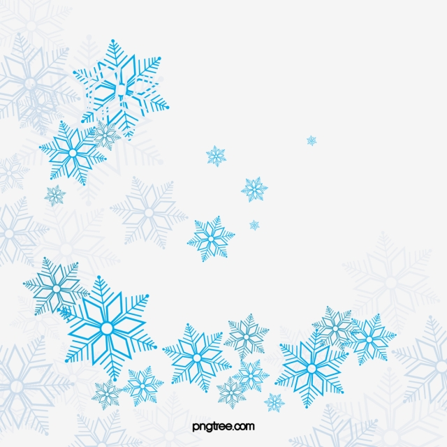 Vector Blue Snowflake, Snowflake Clipart, Vector, Blue PNG.