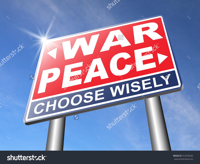 Make Love Not War Fight Peace Stock Illustration 312070202.