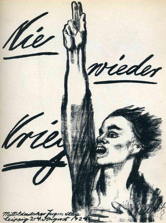 Nie wieder Krieg (Never Again War), Käthe Kollwitz. 1924. #art.