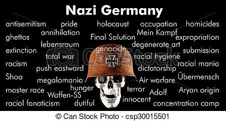 Stock Illustration of Nazi Germany.