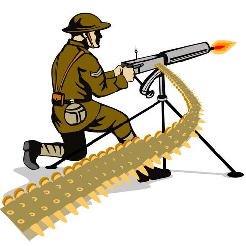 Never Again! World War One in Cartoon and Comic Art.