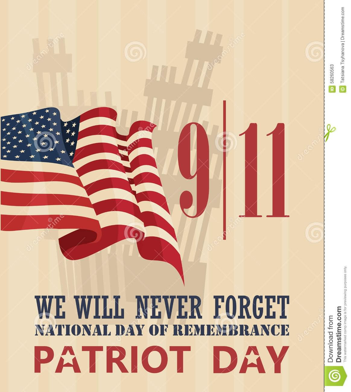 50 Wonderful Patriot Day 2016 Wish Pictures And Photos.