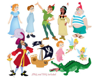 Popular items for neverland clipart on Etsy.