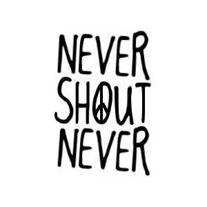 Never Shout Never / NeverShoutNever logo by ABBY ♥.