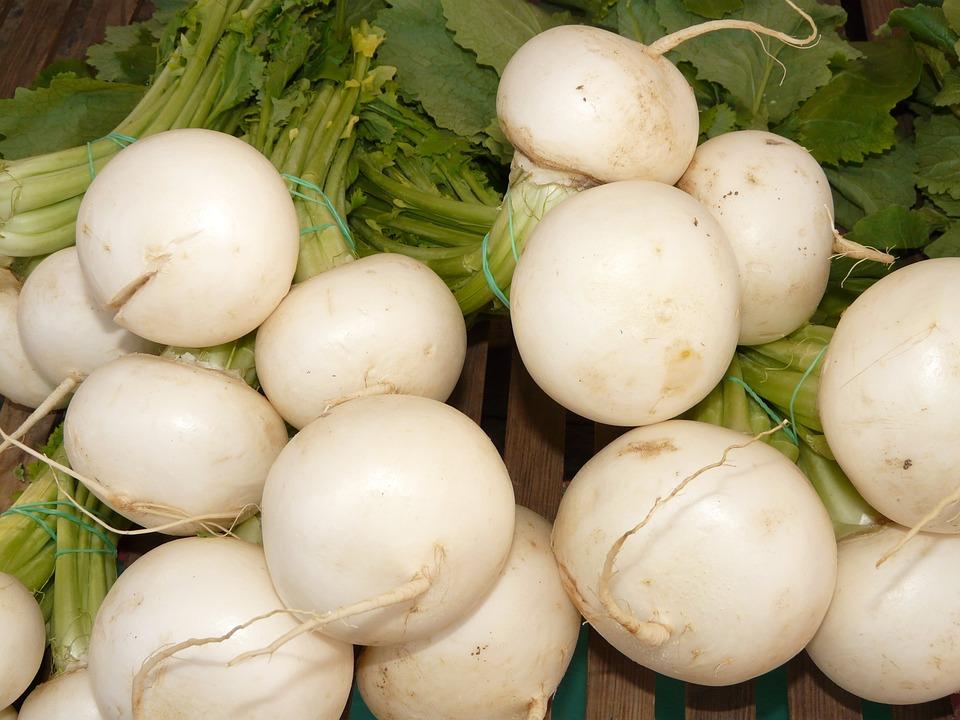 Turnips.