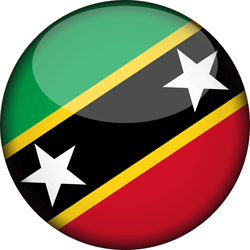 Saint Kitts And Nevis Flag Clipart.