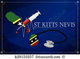 St kitts nevis Clipart Royalty Free. 39 st kitts nevis clip art.